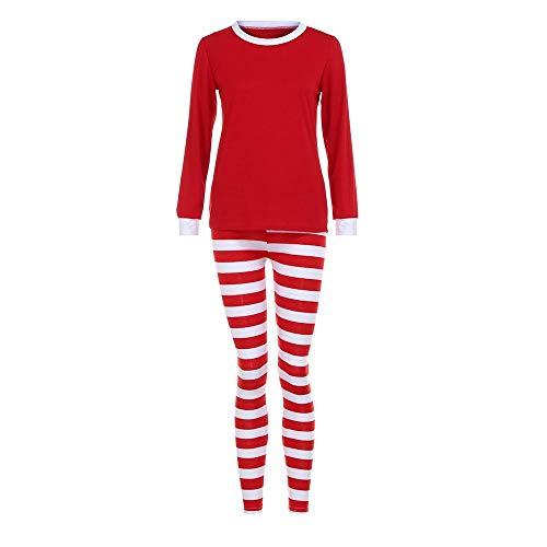 HGWXX7 Women Man Family Matching Christmas Pajamas Set