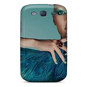 Premium Azure Blue Heavy-duty Protection Case For Galaxy S3