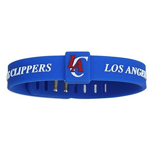 SportsBraceletsPro Adjustable Team Bracelets Kid to Adult Size (Clippers) (Wristband Clippers)