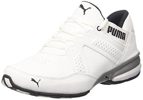 Puma Herren Enzin SL Outdoor Fitnessschuhe Weiß (White-Black)
