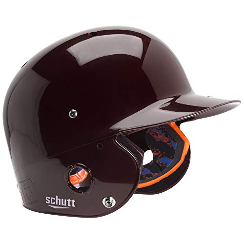 Schutt Sports AiR Pro 5.6 Softball Batter's Helmet, Maroon, Large ()