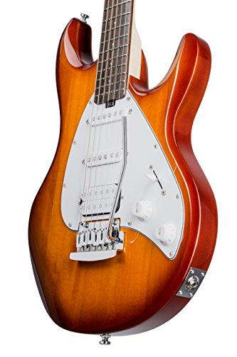 Sterling by Music Man S.U.B. Series Silo3 Silhouette Electric Guitar, Tobacco Sunburst by Sterling by Music Man (Image #5)