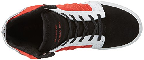Skytop BLACK Mens Evo WHITE Up Suede Sneakers RED Black Lace Shoes High Supra Top xfZPwAqdxT