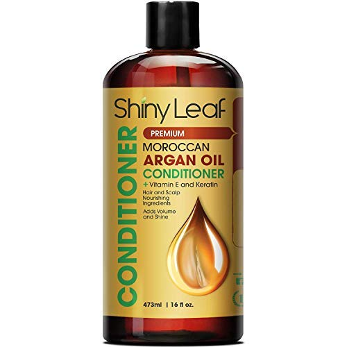 Moroccan Argan Oil Conditioner – Sulfate Free - Moisturizing Anti Hair Loss Treatment - Rejuvenates and Treats Damaged Hair, Adds Volume and Shine, 16 oz (473 ml)