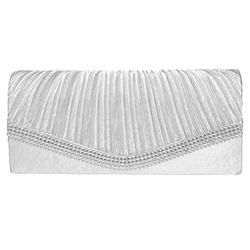 White Satin Purse - 7