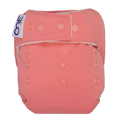 GroVia O.N.E. Reusable Baby Cloth Diaper (Rose)