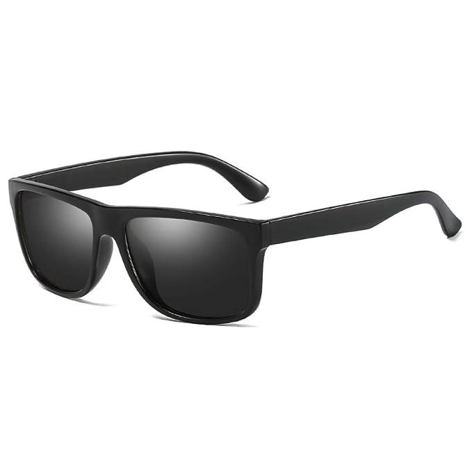 RZXTD Gafas De Sol Clásico Hombre Hd Gafas De Sol Cuadradas ...