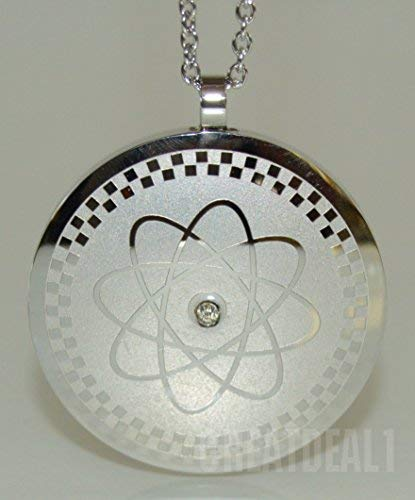Power Energy Scalar Quantum Bio Science Negative Ions Pendant Necklace Electromagnetic Field Protection (GDE-2339)- FREE Teardrop Necklace Value 9 Dollars