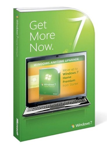 Microsoft Windows 7 Anytime Upgrade [Windows 7 Starter - Windows 7 Upgrade From Vista