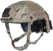 H World Shopping Tactical Adjustable ABS Maritime Helmet Multicam MC, Two Sizes (M/L, L/XL) For Military Airso