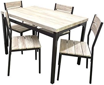 Tavolo 4 Sedie Da Giardino.Set Tavolo 4 Sedie Da Giardino Esterno Terrazzo Tavolo