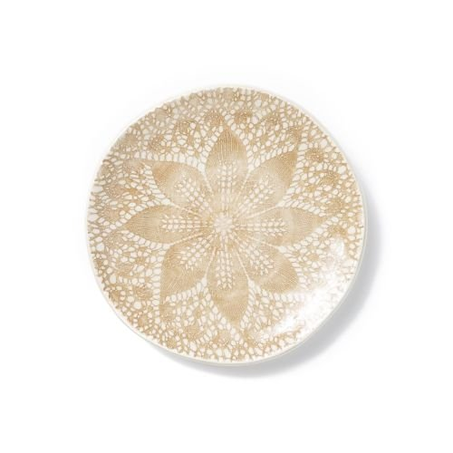 Viva Lace Cocktail Plates - Set of 4 - Natural by Viva