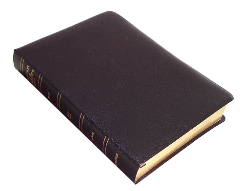 KJV - Black Bonded Leather - Large Print - Thompson Chain Reference Bible (015190)