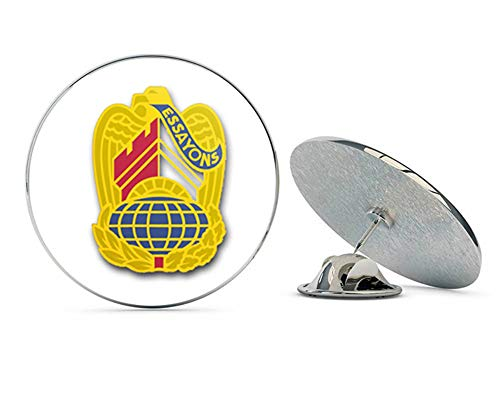 Army Us Corps Unit Crest - Veteran Pins US Army Corps of Engineers Command Unit Crest - Left - Metal 0.75