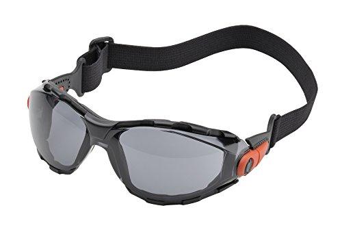 Elvex WELGG41GAF Go-Specs Lens with Elastic Strap, - 1 Sunglasses Ansi Z87