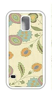 TUTU158600 Print Hard Shell galaxy s5 cases I9600 - Floral Pattern Desktop Wallpaper