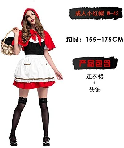 Xiaoludian Disfraz de Halloween Bruja de Cosplay para Adultos ...