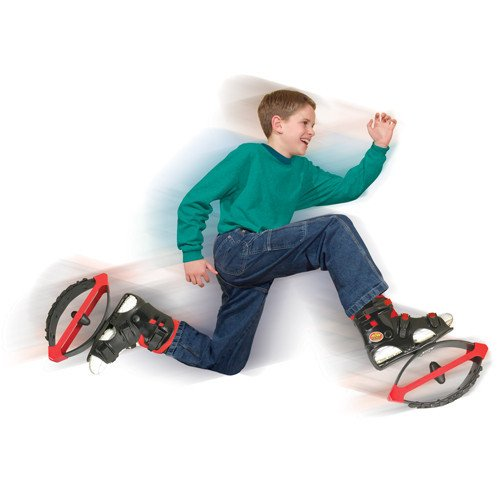 Air Kicks Medium For 99-176 Lbs. Includes Step Counter by American Pogo Stick Co.