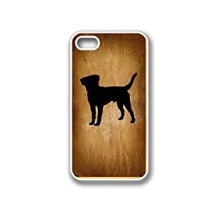 Beagle White iPhone 4 Case - Fits iPhone 4 & iPhone 4S