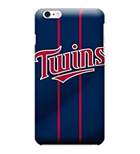 JIDANBING Phone Protective Covers,MLB-Minnesota Twins Skin Slim Case Covers Compatible For iphone 6 plus(5.5)