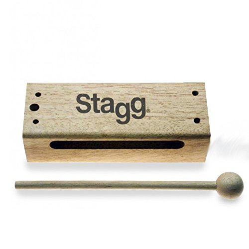 Stagg WB326S Small Thai Wood Block w/ (Stagg Wood)