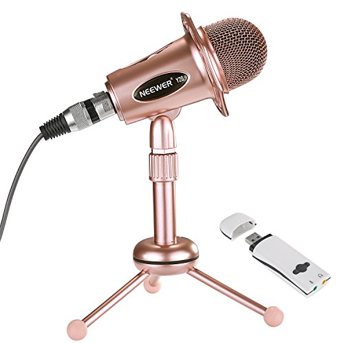 Neewer Computer(Windows,Mac) Condenser Microphone for Rec...