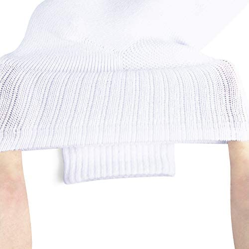 JOURNOW Combed Cotton Low Cut Athletic Cushion Socks for Men and Women 6 Pairs
