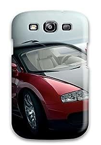 Galaxy S3 Hard Back With Bumper Silicone Gel Tpu Case Cover Bugatti Veyron 21
