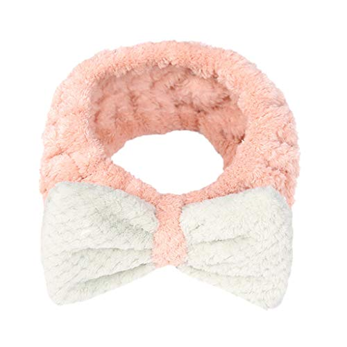 Headwear for Women Ladies Elastic Hairband Bow-Knot Cute Head Lovely Hair Band -