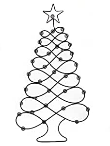 Christmas Card/Photo Holder Display Tree - Wall Hanger