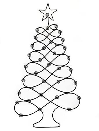 amazon com christmas card photo holder display tree wall hanger