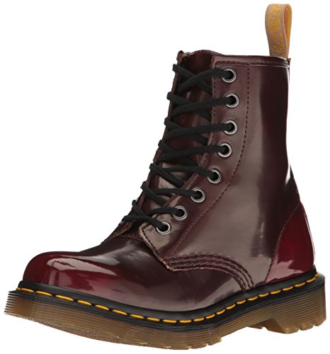 Dr Martens Women's Vegan 1460 Boot - Cherry Red - 9 B(M) US
