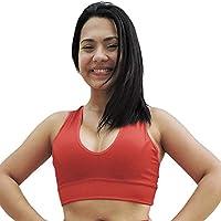Top Feminino Suplex Nadador Liso Vermelho ou Azul - DM702