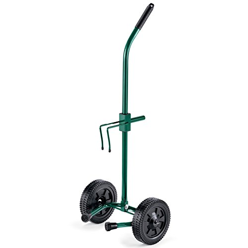 Rolling Pot Mover Green Steel