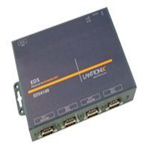 Lantronix Device Server EDS 4100 - Device server - 4 ports - 10Mb LAN, 100Mb LAN, RS-232 - ED41000P2-01 by Lantronix