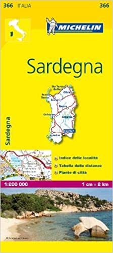 Mapa Local Italia Sardegna (Mapas Local Michelin): Amazon.es ...