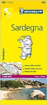 Mapa Local Italia Sardegna por Michelin epub