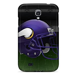 Bumper Hard Cell-phone Case For Samsung Galaxy S4 With Customized Stylish Minnesota Vikings Series RichardBingley