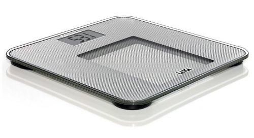 Laica Bilancia PS4010 Pesapersone Elettronica, BMI, Vetro Temperato, 150 kg PS4010S