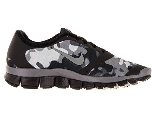 Nike W Nk Free 5.0 V4 Ns Pt - Zapatillas para mujer Black/Cool Grey-Wolf Grey-Anthrct