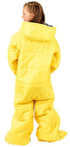 Saco de dormir con brazos y piernas - 150 cm (para niños): Amazon.es: Deportes y aire libre