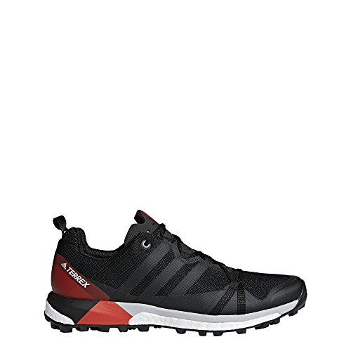 adidas outdoor Terrex Agravic Black/Carbon/Hi-Res Red 9 D (M)