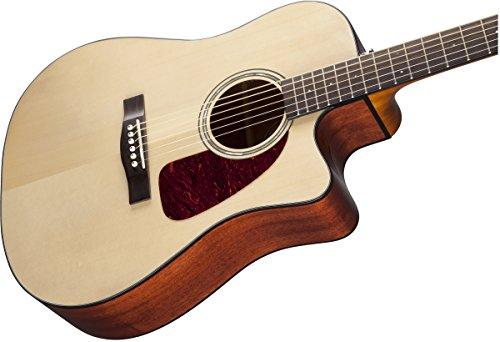 fender beginner acoustic electric guitar cd 140sce natural dreadnought cutaway buy. Black Bedroom Furniture Sets. Home Design Ideas
