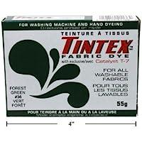 Lot of 1Tintex marca bosque verde tela Dye