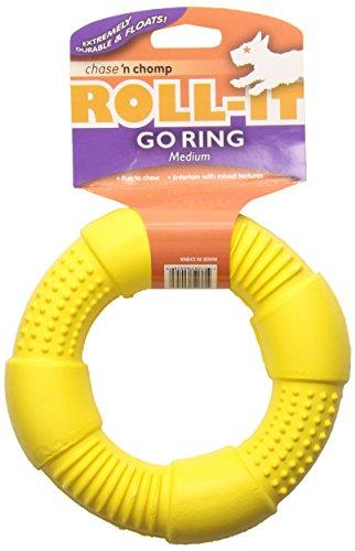 Chase 'n Chomp Go-Ring Pet Chew Toy, Medium by Chase 'n Chomp