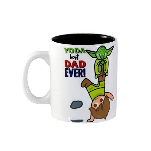 Star Wars Yoda Best Dad Ever 11 ounce Coffee Mug