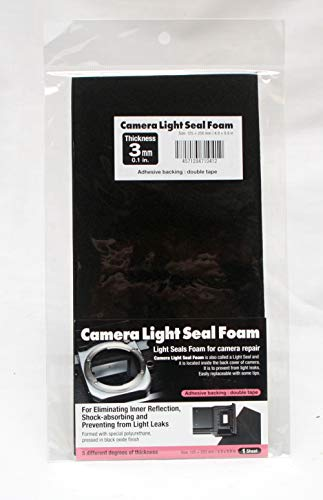 Camera Light Seal Form 250 X 125 X 3.0mm(9.84 X 4.92 X 0.11 in)