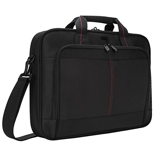 Targus Classic Slim Laptop Bag for 16-Inch Laptops, Black (TCT027US) from Targus