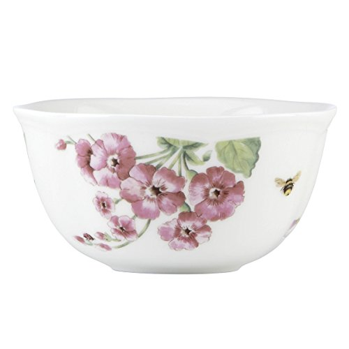 Lenox 829039 Butterfly Meadow Bloom Dessert Bowl Set