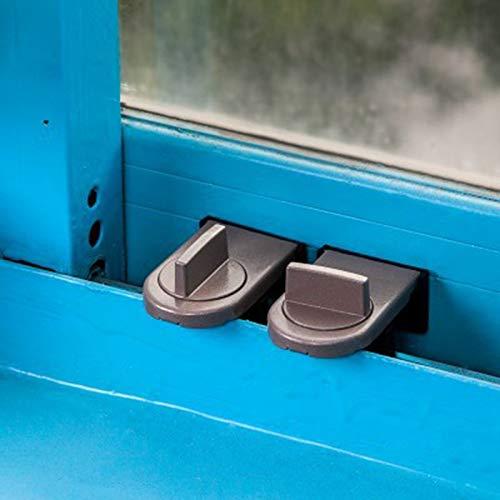BianchiPatricia Security Anti-theft Sliding Window Sash Plastic Steel Aluminum Catch Lock